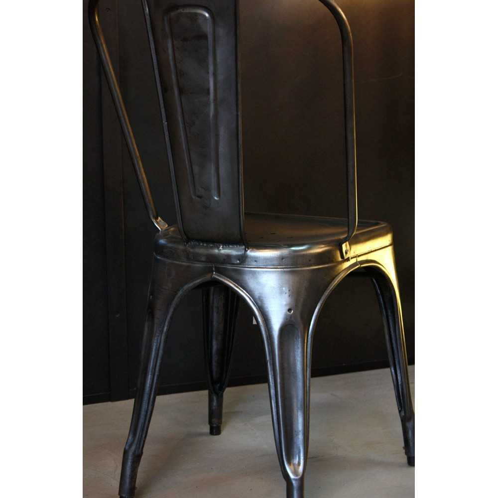 Ancienne Chaise TOLIX Modele A