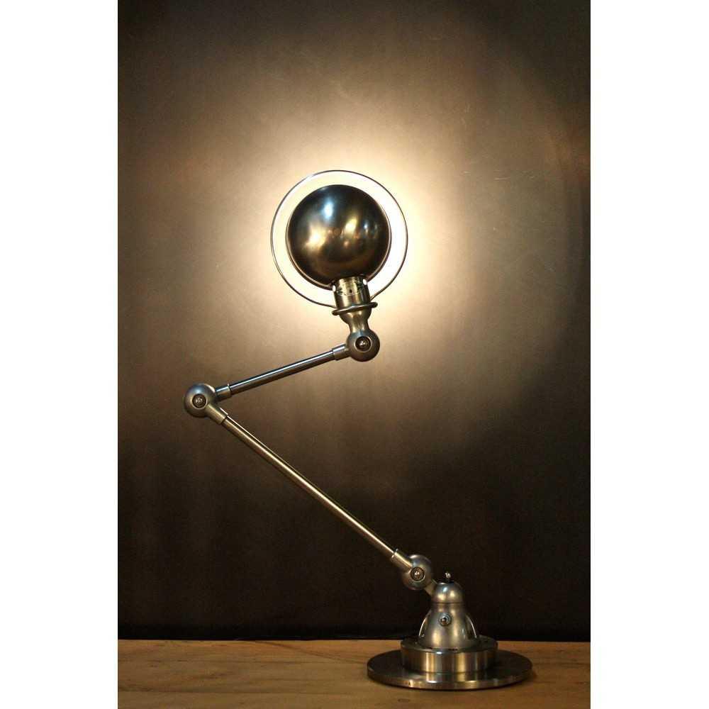 Ancienne lampe industrielle jielde 2 bras les nouveaux for Lampe a poser industrielle