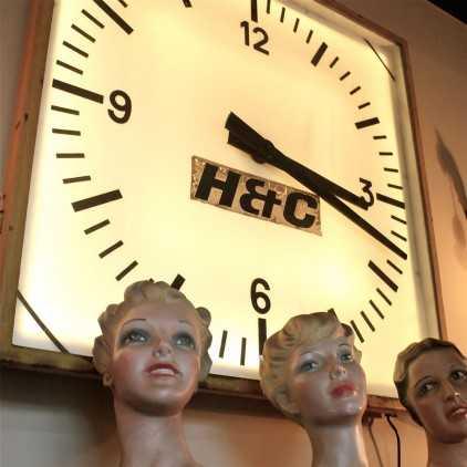 Ancienne horloge de stade