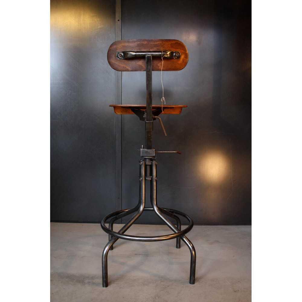 chaise d atelier metal et bois Résultat Supérieur 5 Nouveau Chaise atelier Stock 2017 Lok9