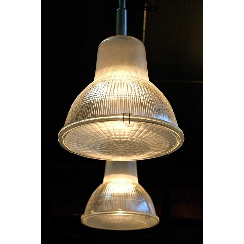Lampe holophane suspension industrielle les nouveaux brocanteurs - Lampe suspension industrielle ...