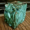 Compression métallique vert turquoise