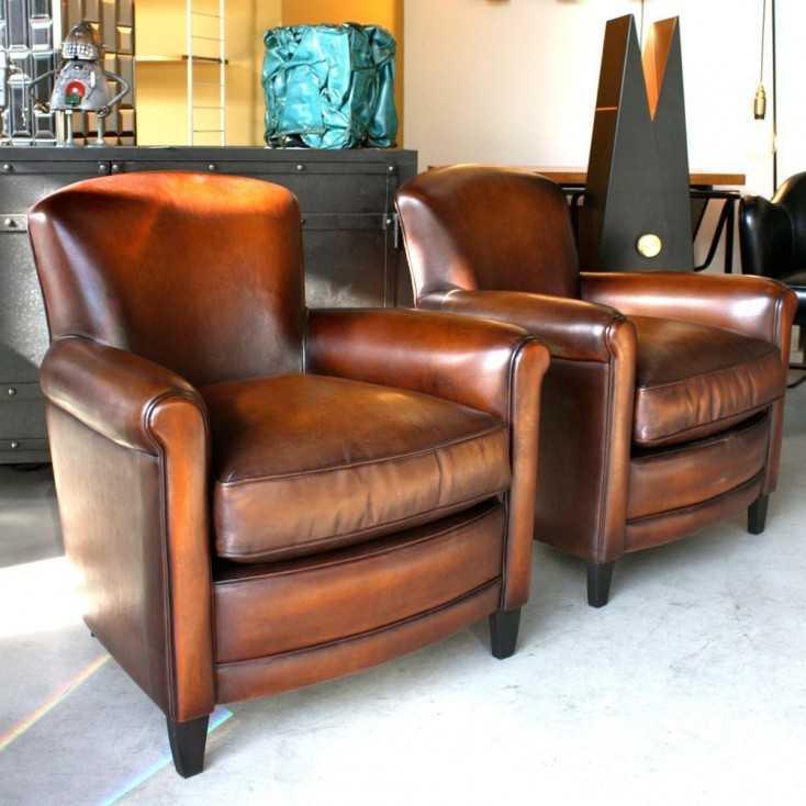 fauteuil club carlton mod le vers 1930 les nouveaux brocanteurs. Black Bedroom Furniture Sets. Home Design Ideas