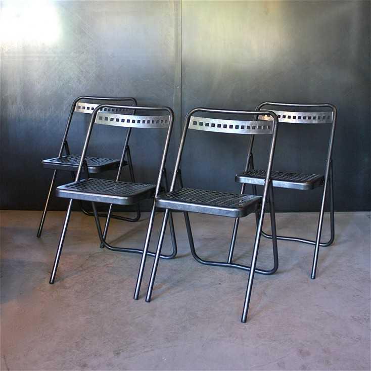 Chaise Pliante En Metal