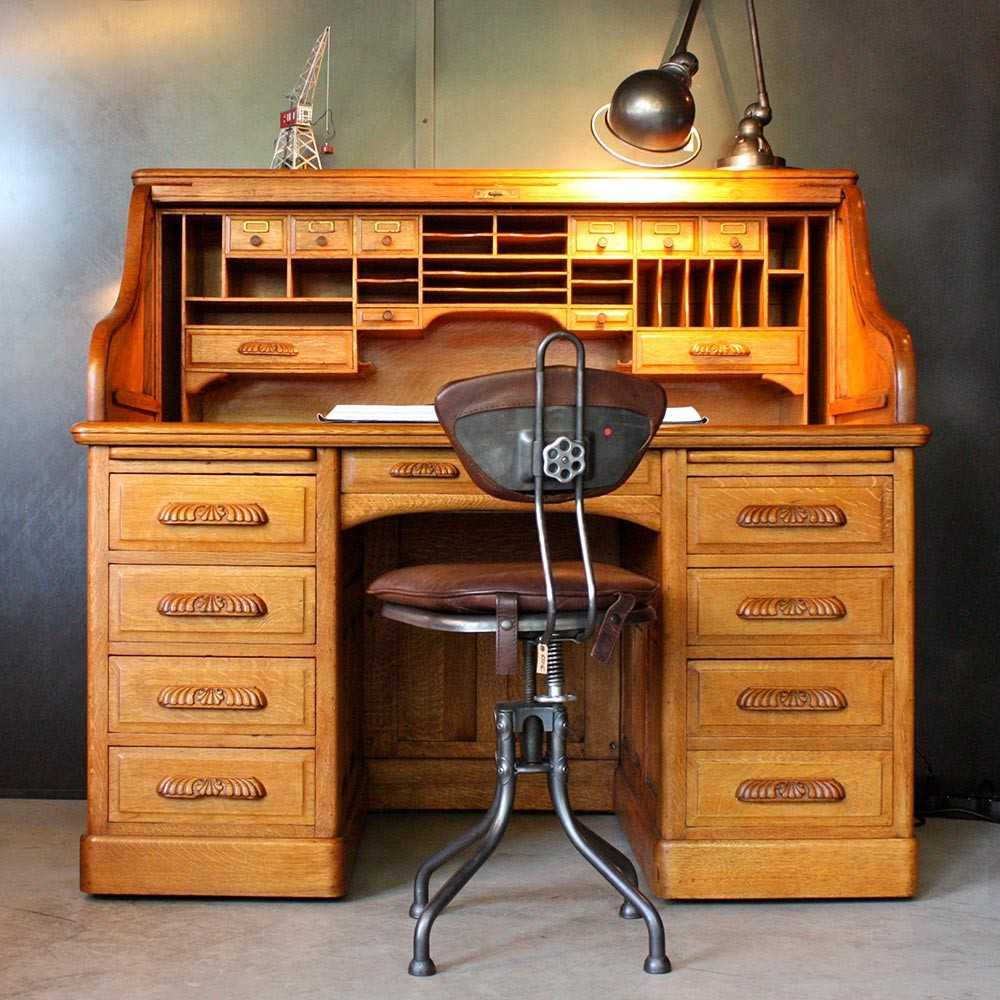 bureau am ricain standard les nouveaux brocanteurs. Black Bedroom Furniture Sets. Home Design Ideas