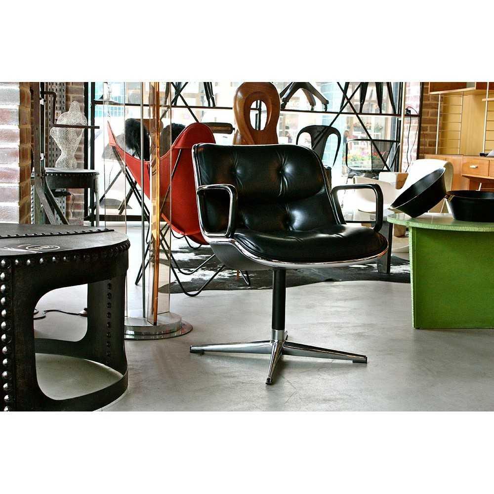 fauteuil de bureau charles pollock les nouveaux brocanteurs. Black Bedroom Furniture Sets. Home Design Ideas