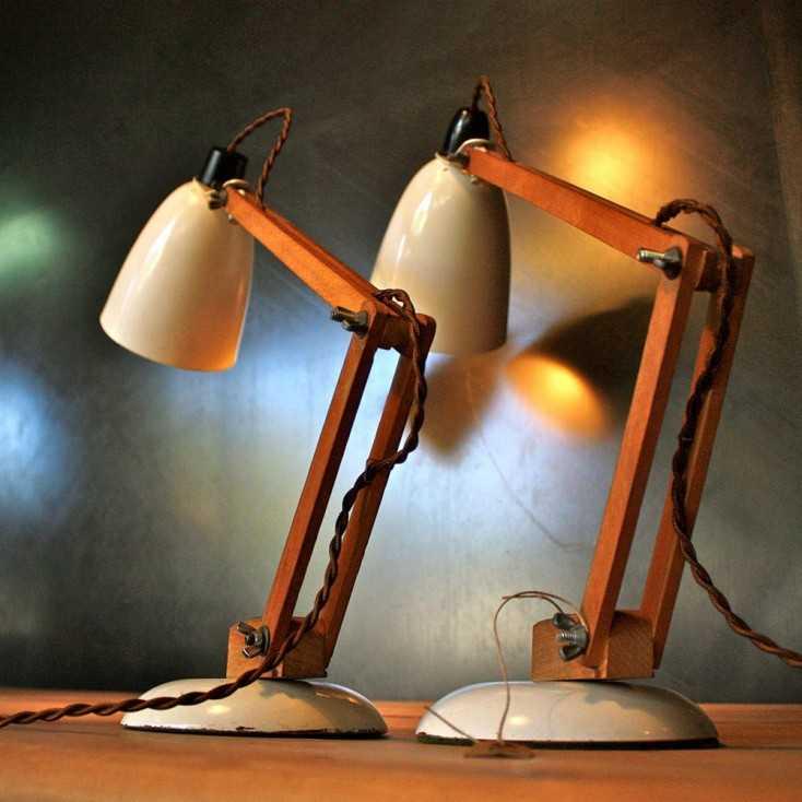 Lampe de bureau vintage les nouveaux brocanteurs - Lampe de bureau retro ...