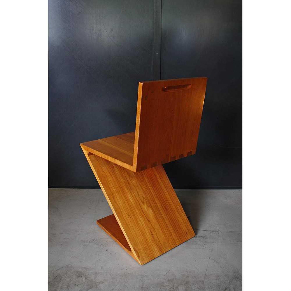 Chaise de rietveld best les amateurs et de design - La chaise rouge et bleue de gerrit rietveld ...