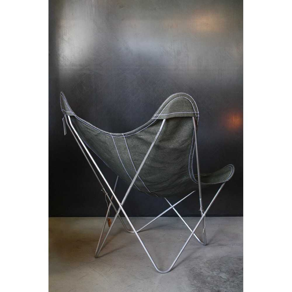 fauteuil airborne aa en lin les nouveaux brocanteurs. Black Bedroom Furniture Sets. Home Design Ideas