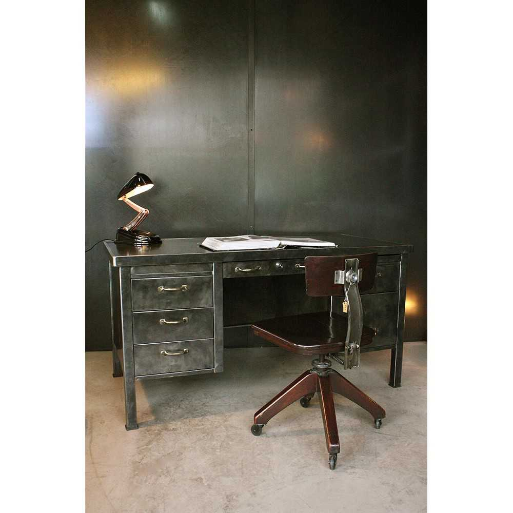 bureau industriel bureau industriel jp2b d coration. Black Bedroom Furniture Sets. Home Design Ideas