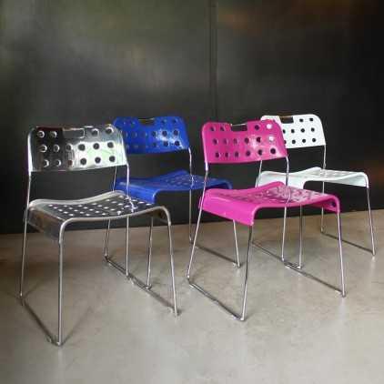 Chaises vintages Omstak de Rodney Kinsman