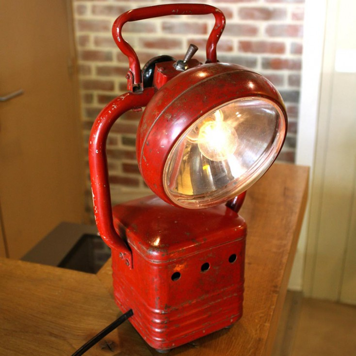 Lampe industrielle portative