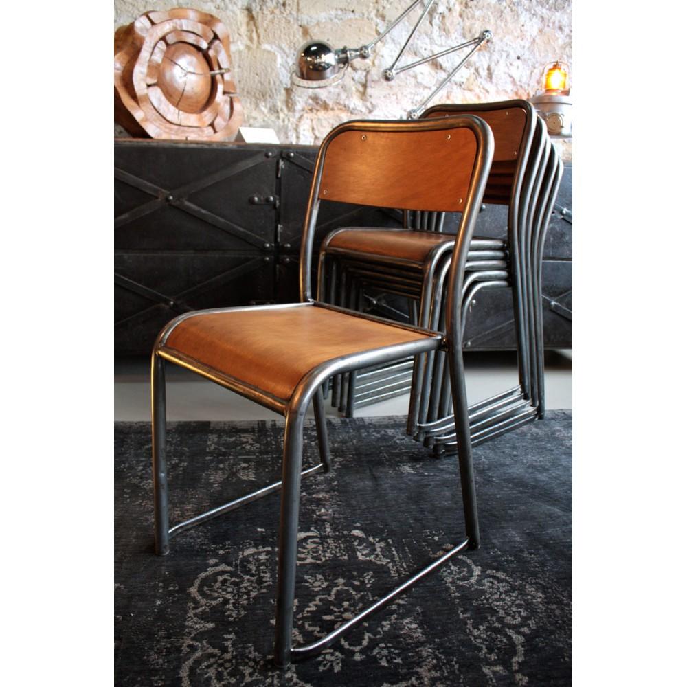 chaise d ecole chaise d ecole with chaise d ecole excellent vieille chaise dcole en bois. Black Bedroom Furniture Sets. Home Design Ideas
