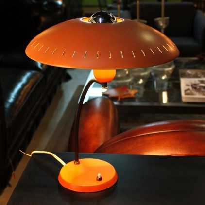 Lampe Philips orange Louis Christiaan Kalff