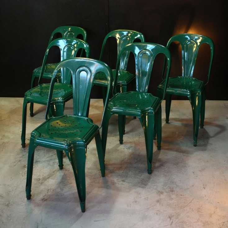 Chaises industrielles Fibrocit
