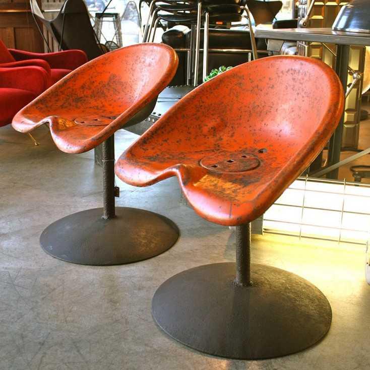 Paire de sièges industriels