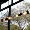 Tube de style industriel avec ampoules LED