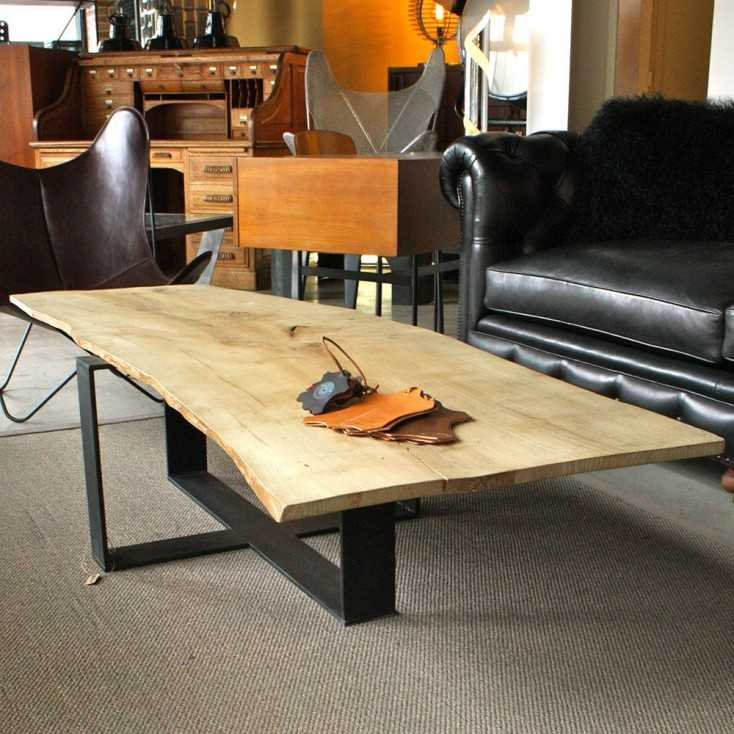 Table basse naturaliste