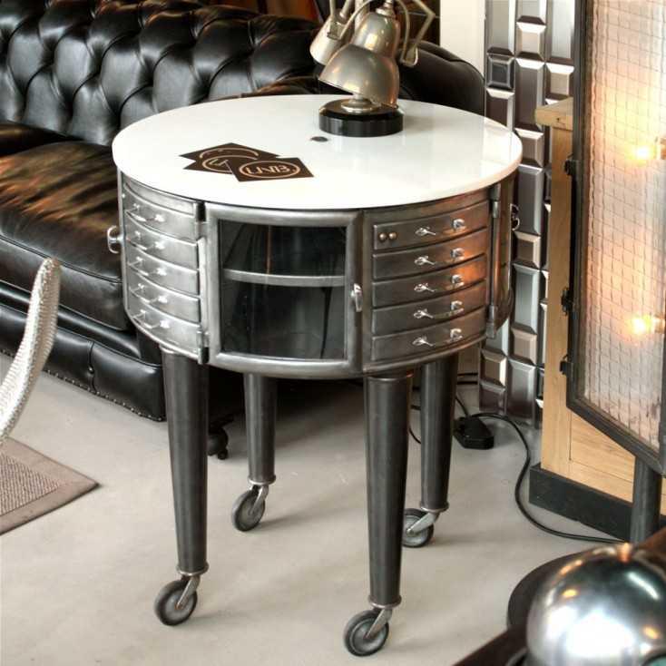 meuble de dentiste girator les nouveaux brocanteurs. Black Bedroom Furniture Sets. Home Design Ideas