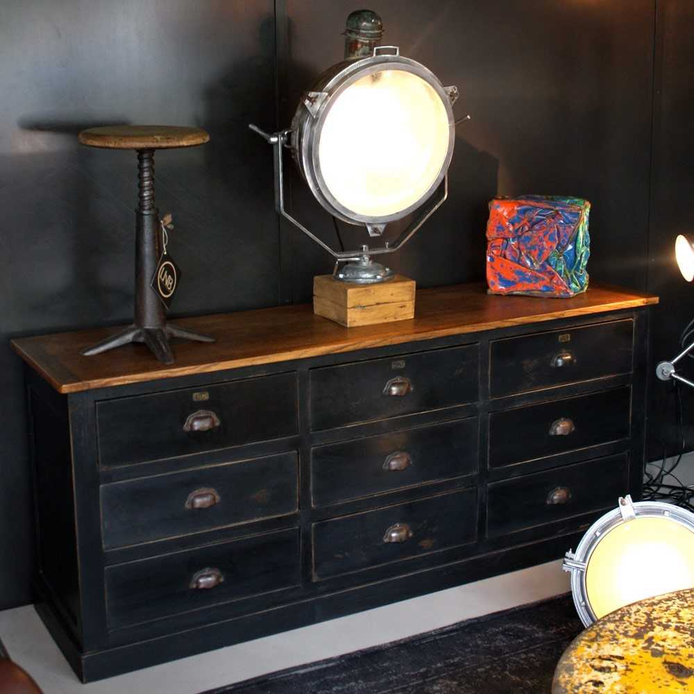 meuble de m tier type mercerie les nouveaux brocanteurs. Black Bedroom Furniture Sets. Home Design Ideas