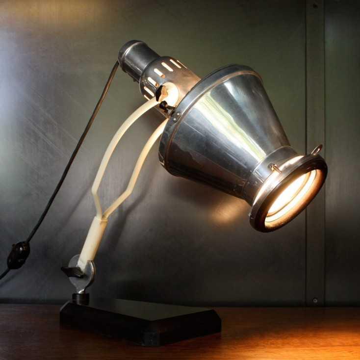 Lampe Industrielle Original Hanau Les Nouveaux Brocanteurs