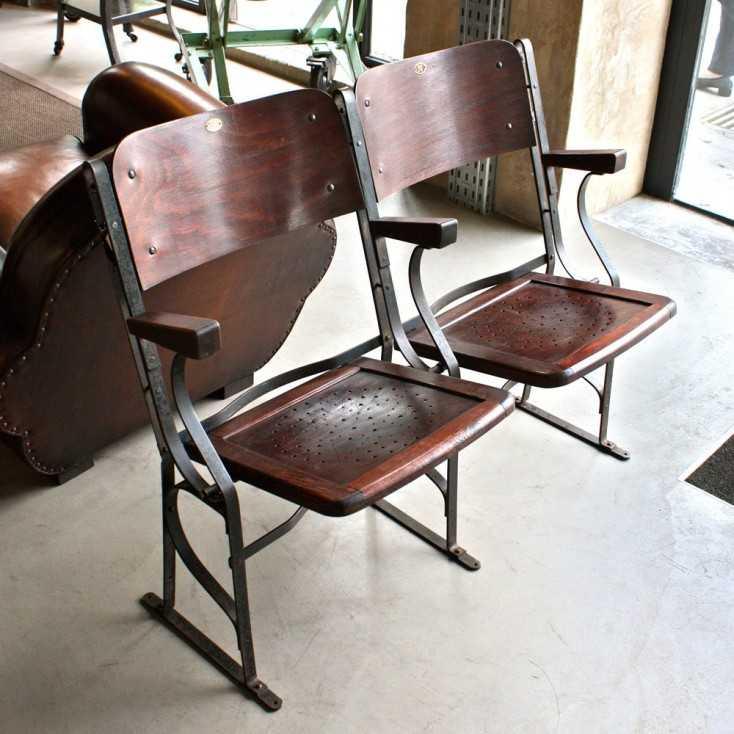 anciens strapontins de th tre les nouveaux brocanteurs. Black Bedroom Furniture Sets. Home Design Ideas