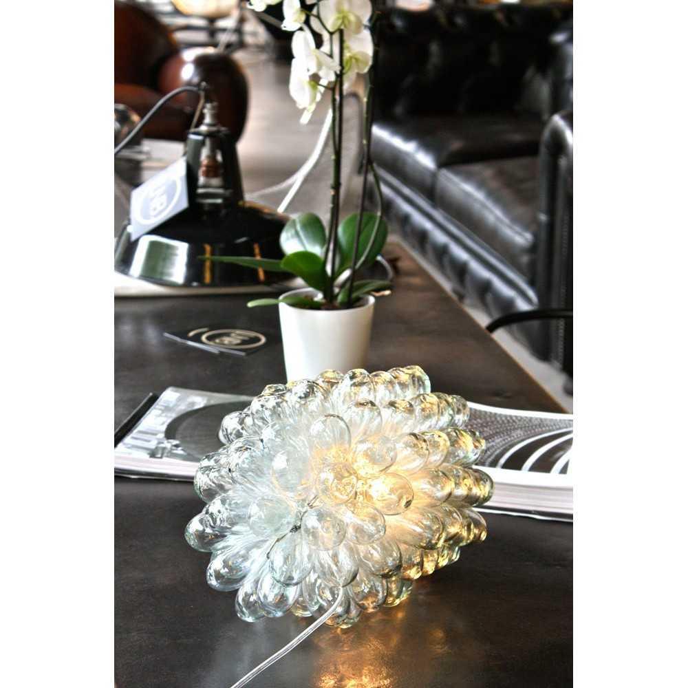 lampe grappe de verre les nouveaux brocanteurs. Black Bedroom Furniture Sets. Home Design Ideas