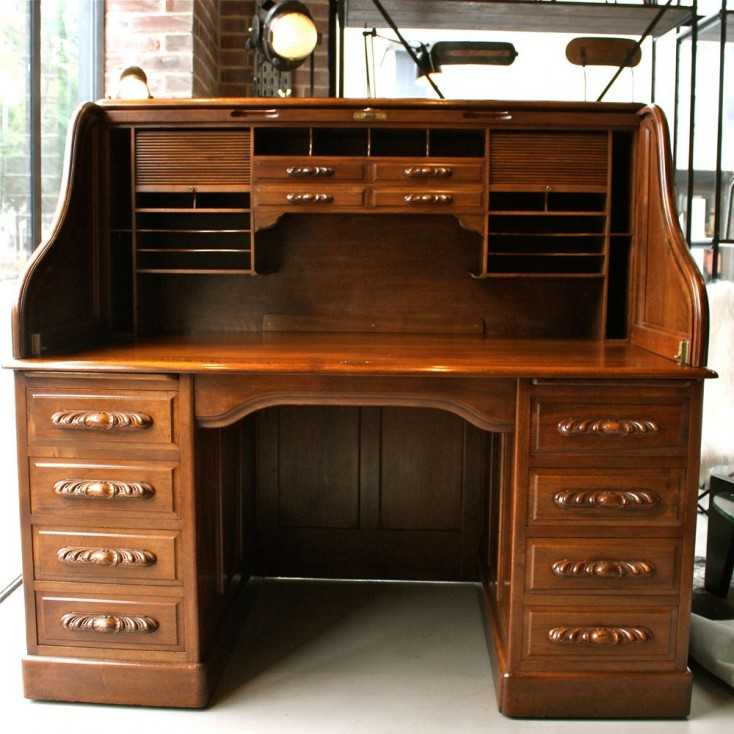bureau am ricain les nouveaux brocanteurs. Black Bedroom Furniture Sets. Home Design Ideas