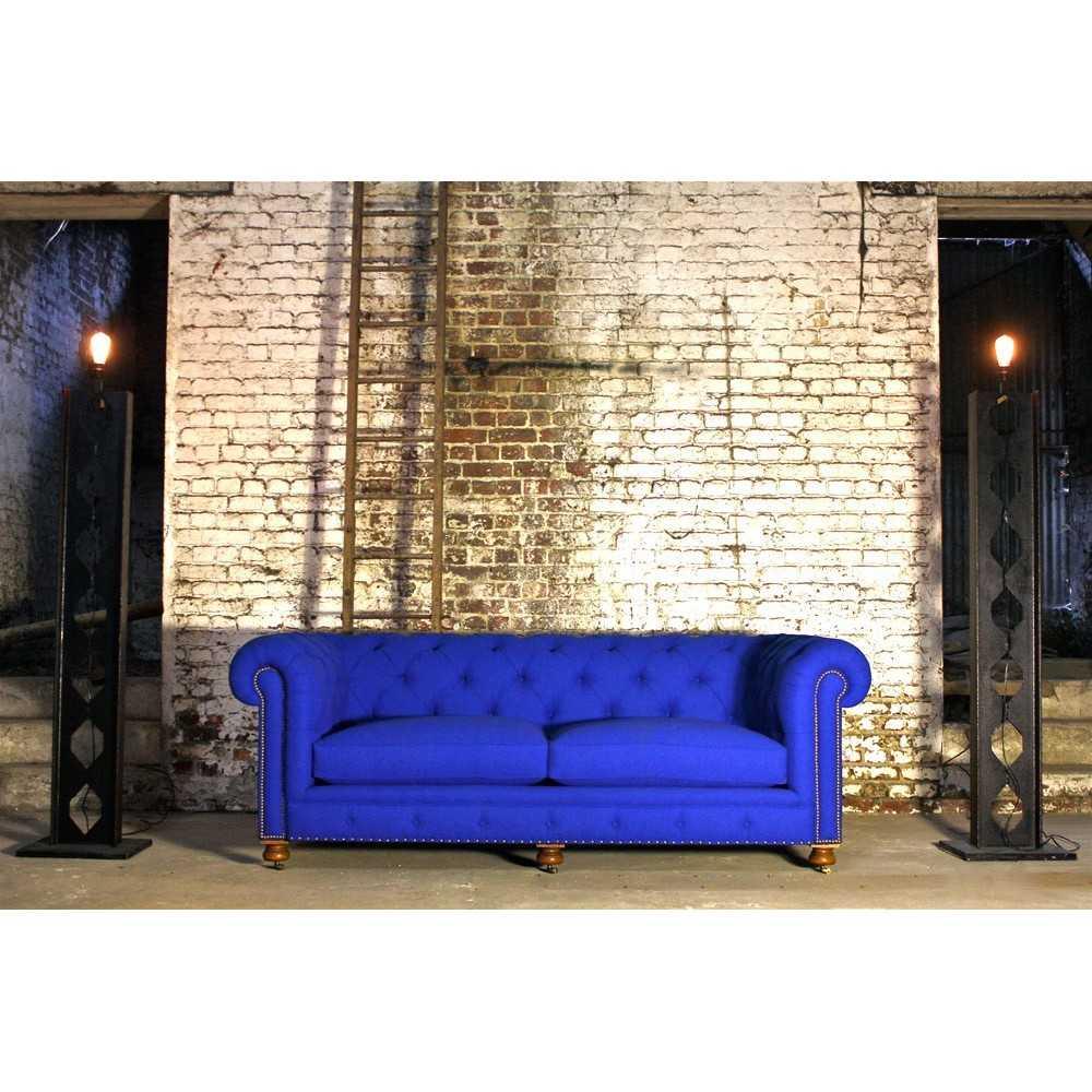canap chesterfield tissu les nouveaux brocanteurs. Black Bedroom Furniture Sets. Home Design Ideas