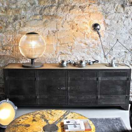 Meuble d'atelier bois métal