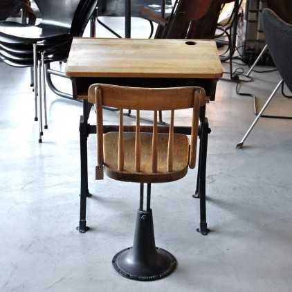 pupitre d 39 colier usa vers 1950 les nouveaux brocanteurs. Black Bedroom Furniture Sets. Home Design Ideas