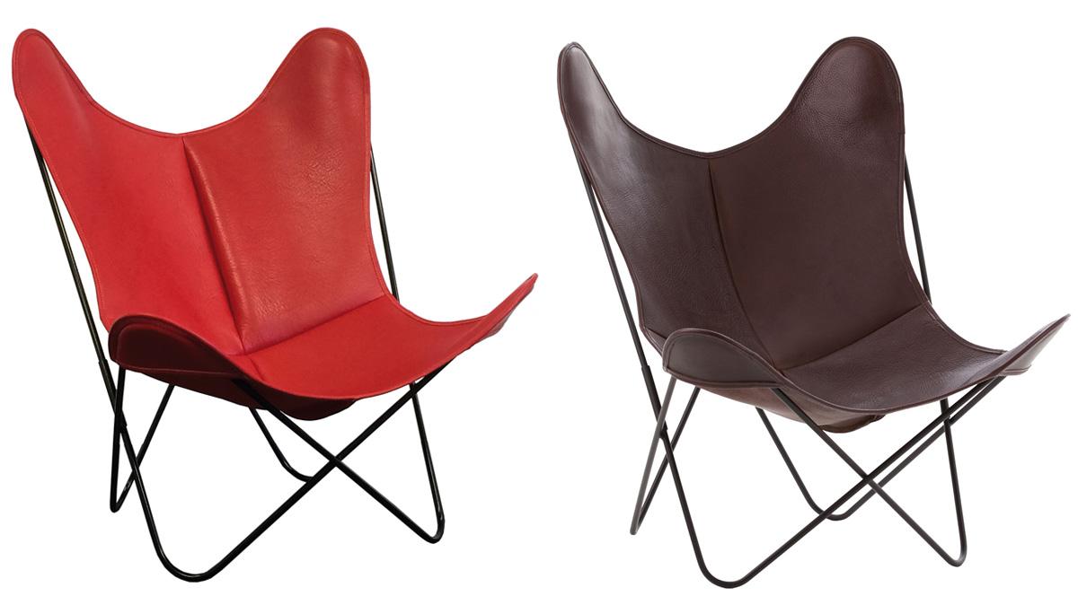 fauteuil aa cuir buffalo de airborne les nouveaux brocanteurs. Black Bedroom Furniture Sets. Home Design Ideas
