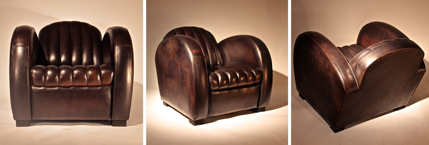 fauteuil club roadster les nouveaux brocanteurs. Black Bedroom Furniture Sets. Home Design Ideas