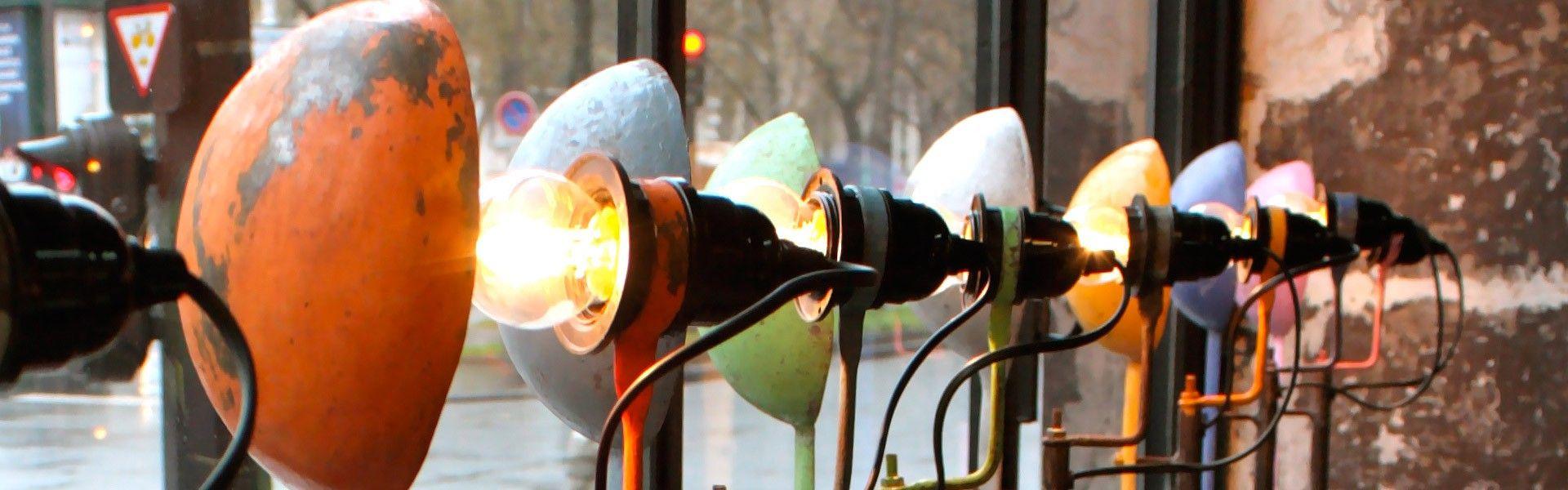 Lampes Cuillères chez LNB.