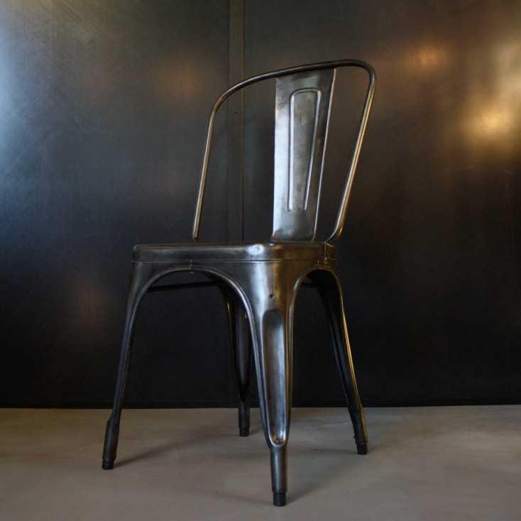Ancienne chaise TOLIX modèle A