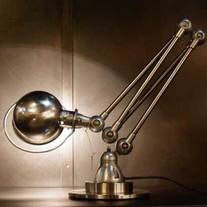 Lampe industrielle JIELDE 4 bras