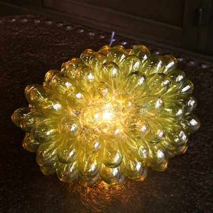 Lampe grappe de verre Anis