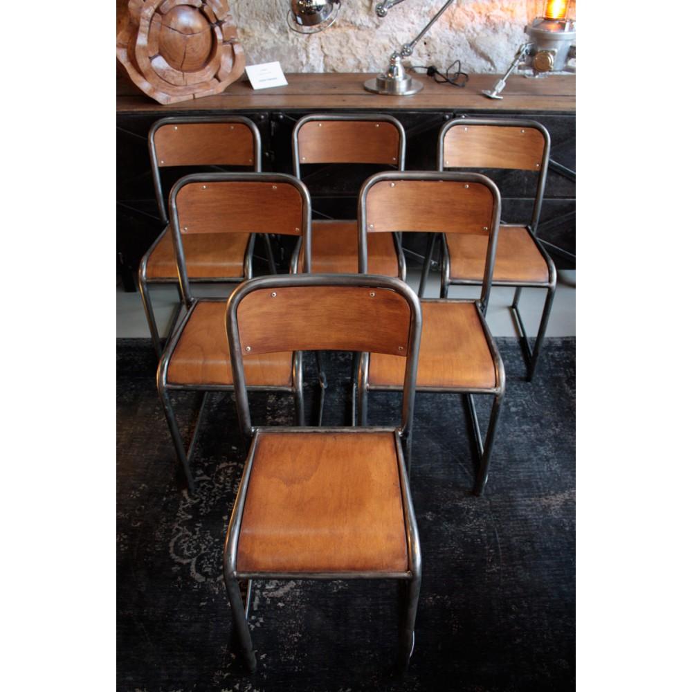 Chaise D École Mullca chaise d'école ancienne de type mullca | les nouveaux