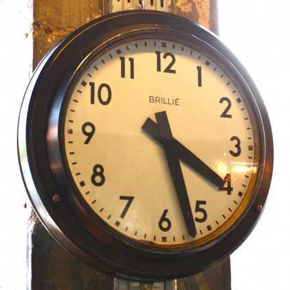 Horloge industrielle Brillé