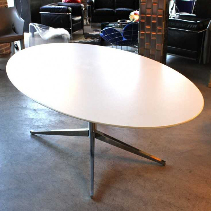 Table à manger ovale Florence Knoll