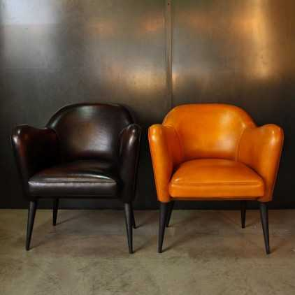 """Bebop"" armchair French design 50's"