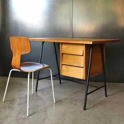 Vintage desk modernist fifty's (1950)