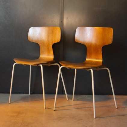 """Chaise """"Hammer"""" Arne Jacobsen"""