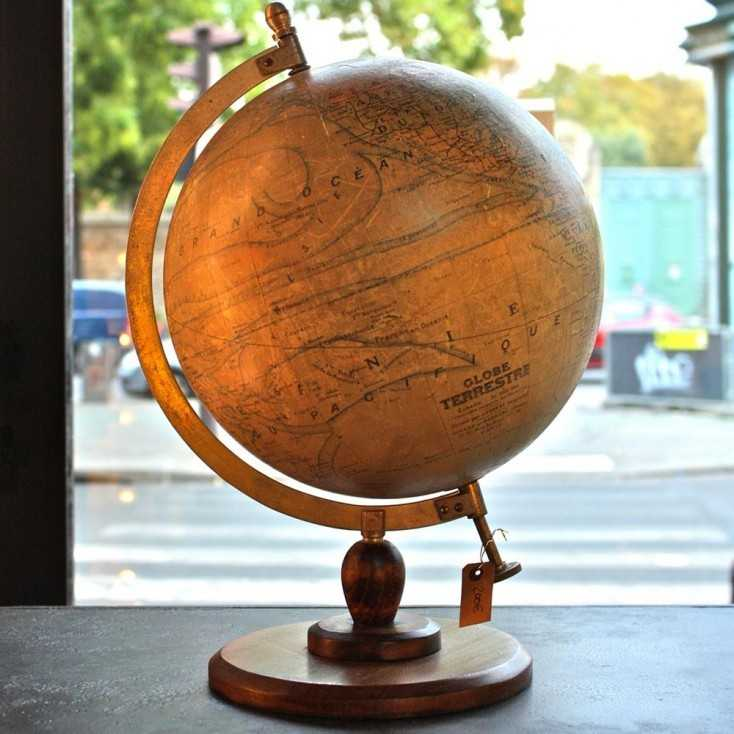 Globe terrestre GIRARD & BARRERE