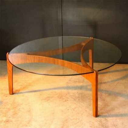 Table basse scandinave Sven Ellegaer