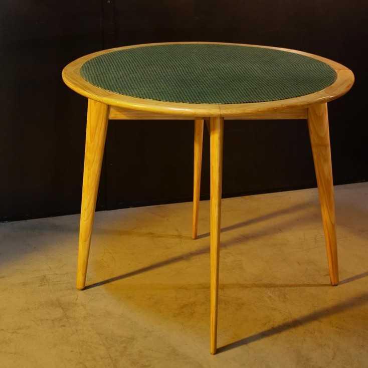 Table de bridge vintage 50's