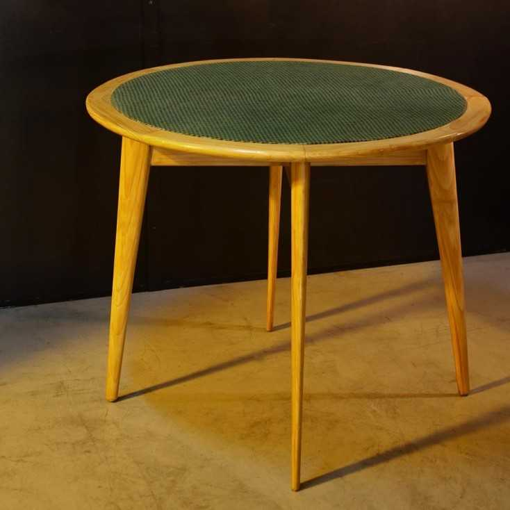 Table de bridge vintage 50's