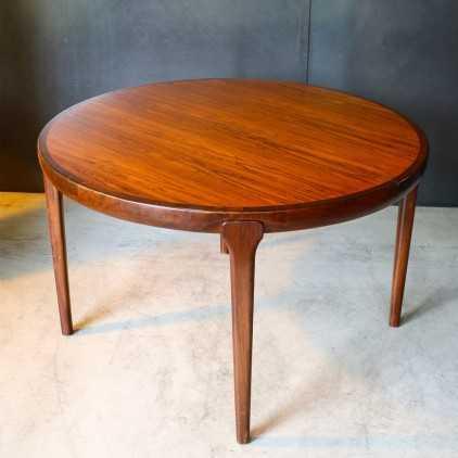 Table Scandinave en palissandre de Rio