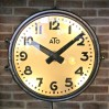 ATO vintage industrial Clock
